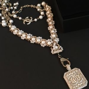 Authentic Pre-owned Chanel Twisted Pearl Necklace
